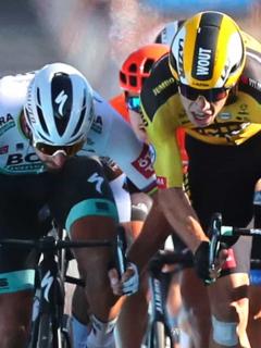 Un celular pudo causar el empujón por el que descalificaron a Peter Sagan en el Tour de Francia.