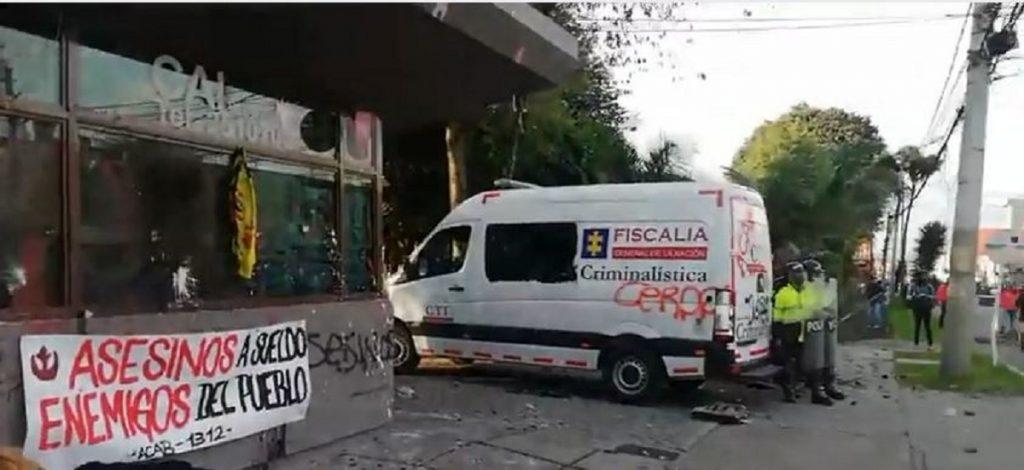 Protesta en CAI de Villa Luz-Pulzo