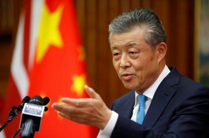 Liu Xiaoming, embajador de China en Reino Unido, quien dice le hackearon el Twitter y le dieron me gusta a video porno