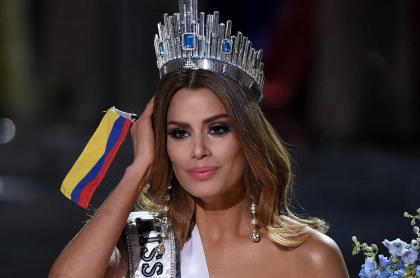 Foto de Ariadna Gutiérrez, a propósito de que Miss Universo no le dio premio como virreina