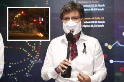 Claudia López habla de toque de queda en Bogotá