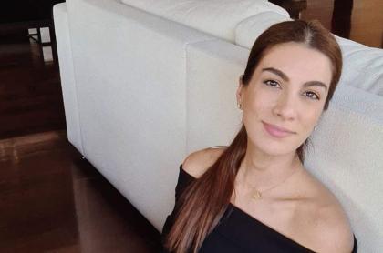 Andrea Serna, presentadora colombiana que denunció uso de su imagen para estafas.