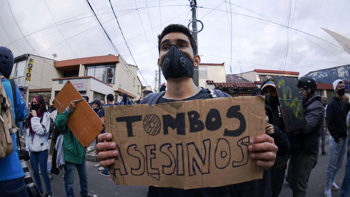 Manifestantes vuelven al CAI al que llevaron a Javier Ordóñez