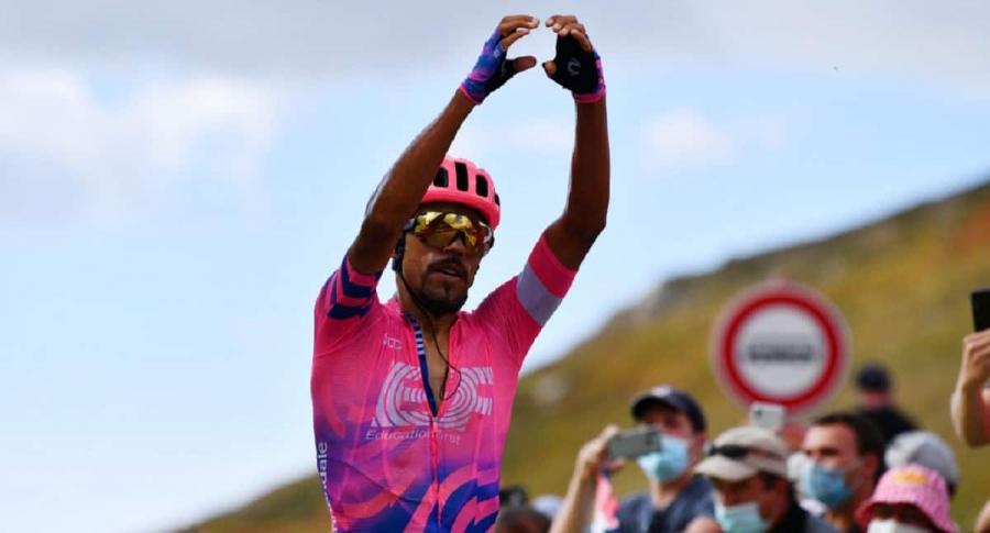 Daniel Martínez ganó la etapa 13 del Tour de Francia