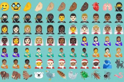 117 nuevos emojis que llegan a Android 11