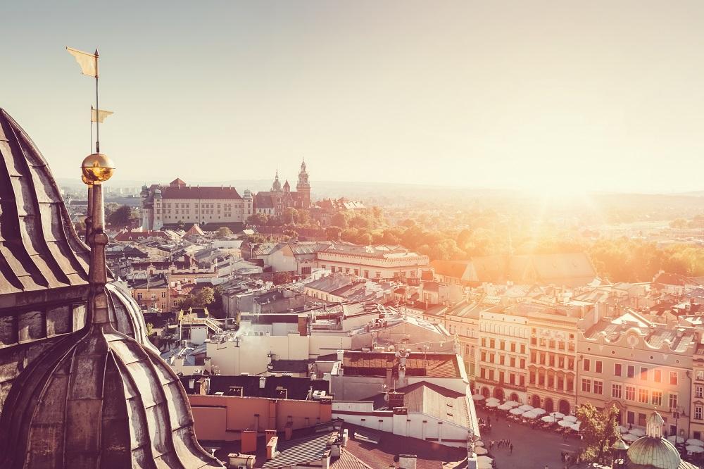 En Cracovia, Polonia, la Universidad de Ciencia y Tecnología AGH, que ofrece becas a colombianos.
