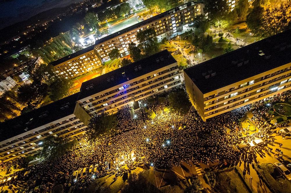 Estudiantes de la Universidad de Ciencia y Tecnología AGH, en Cracovia, Polonia, donde hay becas disponibles para colombianos.