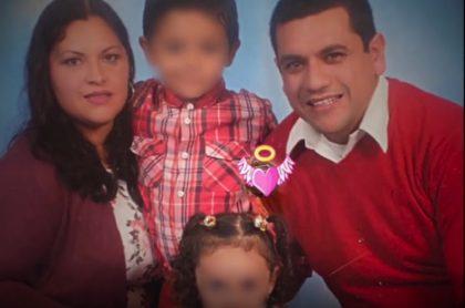 Hombre que mató a su familia y luego se suicidó.