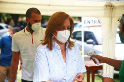 La gobernadora del Valle, Clara Luz Roldán, anunció este lunes 14 de septiembre que padece cáncer
