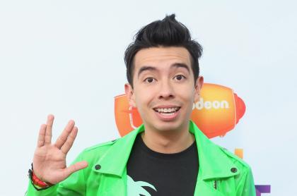 Ami Rodríguez, el 'youtuber' más grande de Colombia, en los Nickelodeon Kids' Choice Awards México 2017.