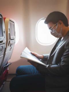 Imagen ilustrativa de retorno de vuelos internacionales a Colombia.