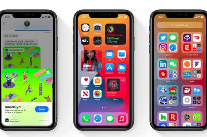 Nuevo sistema operativo iOS 14 para los iPhone