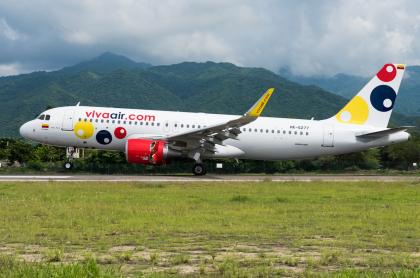 Imagen ilustrativa de Viva Air en Colombia.
