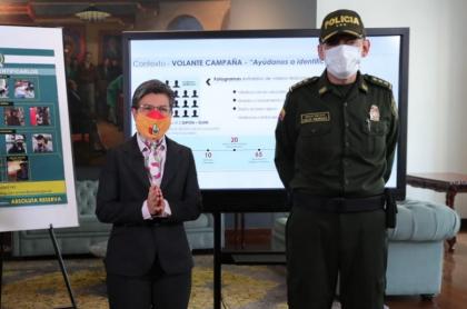 Claudia López y general Carlos Rodríguez: Policía contradice a alcaldesa sobre uso real de la línea 123.