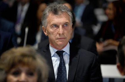 Mauricio Macri, expresidente de Argentina.