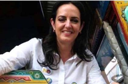 María Fernanda Cabal, senadora que habló de los insultos que recibió en un CAI de Usaquén, en Bogotá