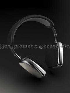 Render de los que serían los audífonos AirPods Studio de Apple