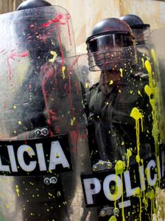 Policía de Colombia debe reformase, dice The Economist.