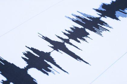 Imagen de ondas ilustra nota sobre Fuerte temblor de 6,1 grados sacudió a Argentina.