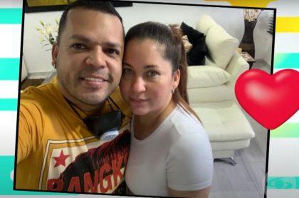 Dinkol Arroyo y su esposa Mary, con quien se ha casado 3 veces después de 2 divorcios