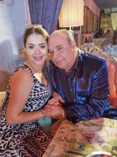 Catalina Iglesias y su esposo, Luis Alberto Posada, quienes en 'La red' contaron detalles de su historia de amor.
