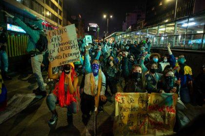 Manifestantes en Bogotá: la Secretaría de Gobierno confirmó los puntos desde los que saldrán las marchas de este lunes 21 de septiembre.