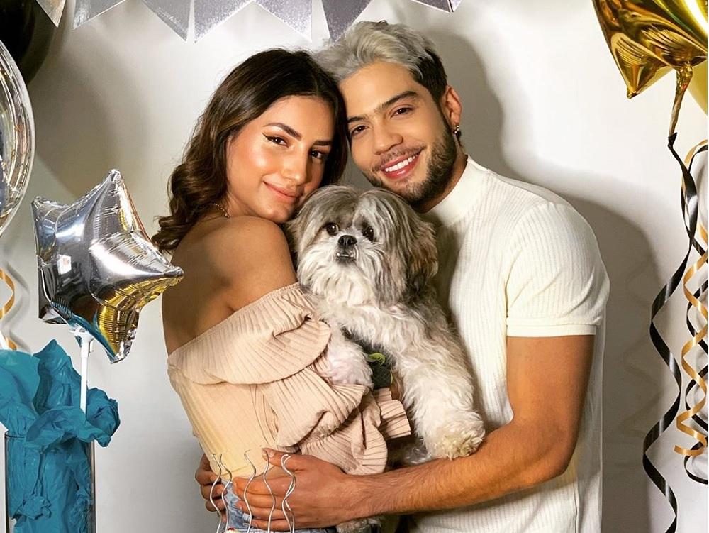 Vivian Ossa y Jerónimo Cantillo, un amor que nació en 2017 durante las grabaciones de la serie 'Los Morales' (Caracol TV).