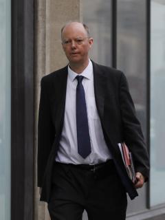 Chris Whitty, director médico del gobierno británico