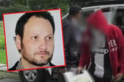 """Javier Ordóñez y patrullero detenido por su muerte, al que el hermano de Ordóñez le dijo que no fuera """"monstruo"""""""