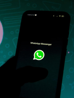 Logotipo de WhatsApp, aplicación que pronto permitirá abrir una misma sesión en varios dispositivos
