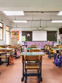 Salon de clases en China