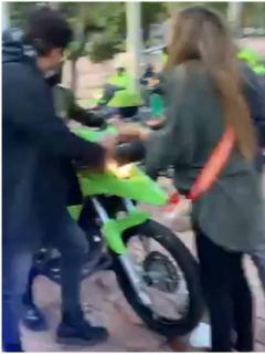 Katherine Miranda dice que fue agredida por policías en protestas