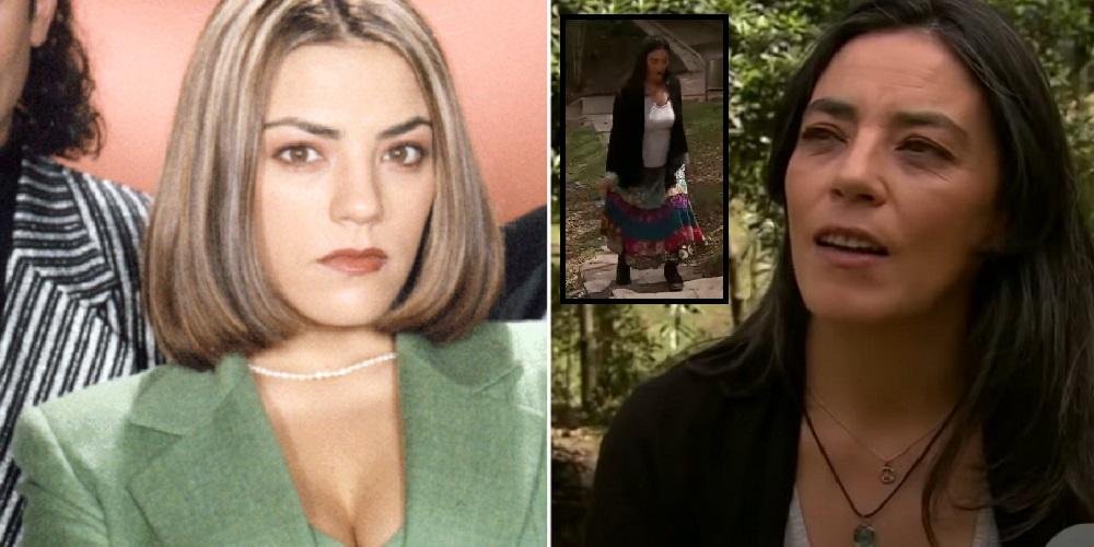Sandra Reyes cuando hizo de Paula Pacheco en 'Pedro, el escamoso' y en 2018 en 'La red'.