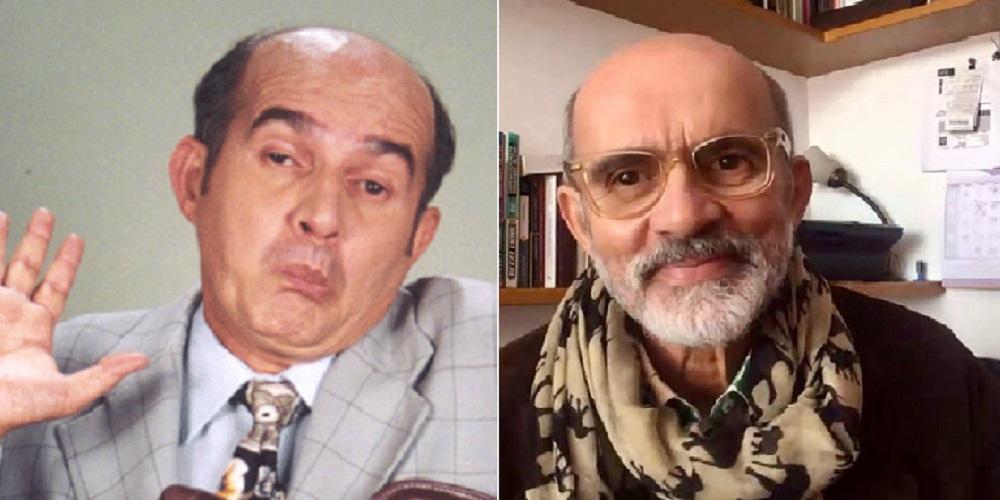 Jairo Camargo cuando hizo de Alirio Alberto Perafán en 'Pedro, el escamoso' y en 'Día a día' en 2020.