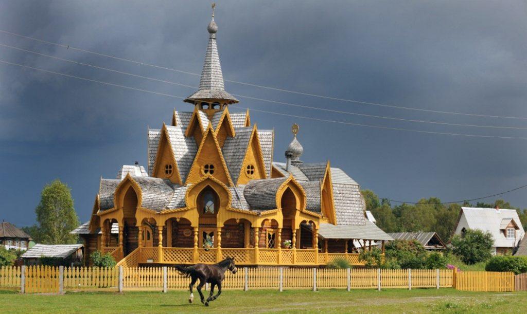 Getty / Sitio de culto en Siberia, Rusia.