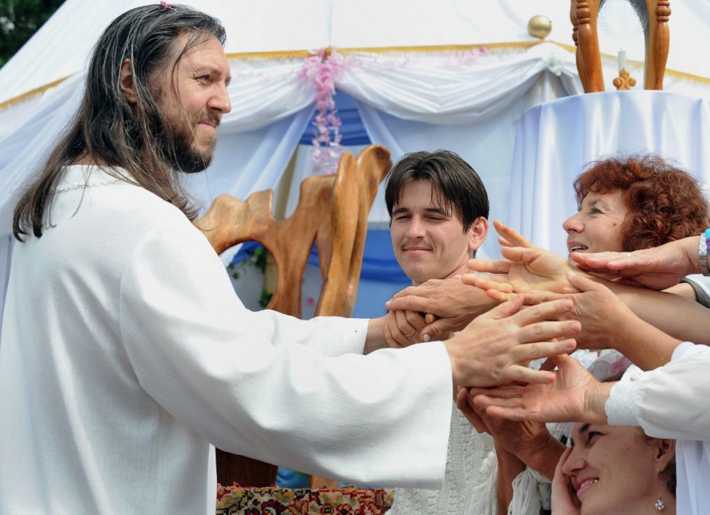 Getty / Serguéi Torop se considera Jesús reencarnado.