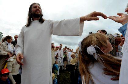 Serguéi Torop se autodenomina la reencarnación de Jesús de Nazaret.