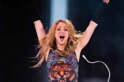 Shakira durante su gira de 'El dorado', años después de sacar 'Dónde están los ladrones', uno de los mejores discos de la historia, según Rolling Stone.