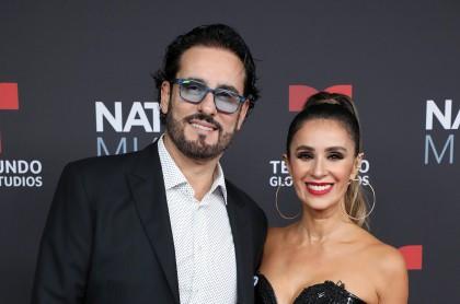 Foto de Miguel Varoni y Catherine Siachoque, a propósito de sus secretos para tener un matrimonio duradero