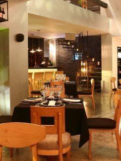 Restaurante Leo, reconocido entre los mejores de lujo del mundo por Tripadvisor en 2020.