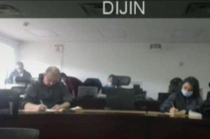 Audiencia de disidentes de Farc acusados de vandalismo en Bogotá.