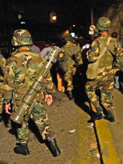 Venezuela acusa a Colombia de muerte de militares venezolanos (foto)