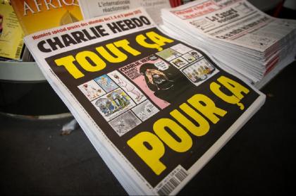 Una nueva caricatura de Mahoma le significó nuevas amenazas del grupo terrorista Al Qaeda a la revista satírica Charlie Hebdo.