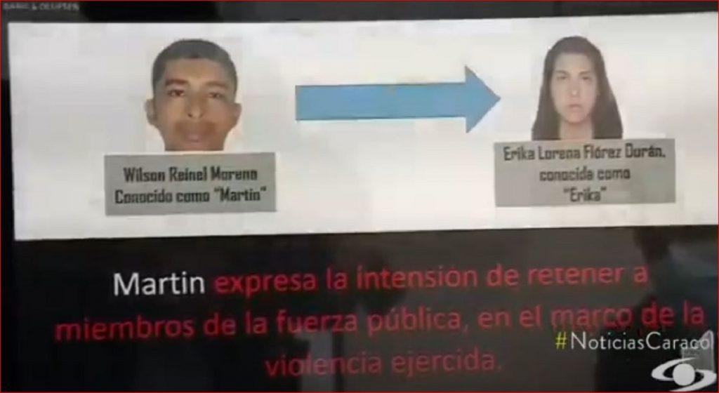 Alias 'Martín', tomado de Noticias Caracol