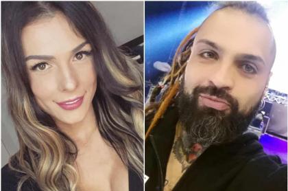 Danna Sultana y Roberto Velásquez, famosos colombianos que se rumoró tuvieron un noviazgo.