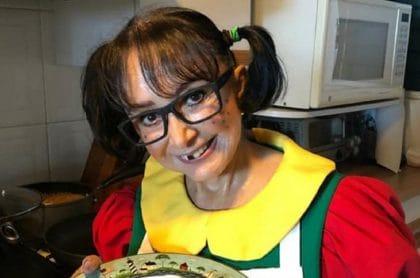 María Antonieta de las Nieves, 'la Chilindrina', en una foto que subió a Facebook días antes de revelar cuánto ganaba por actuar en 'El Chavo del 8'.