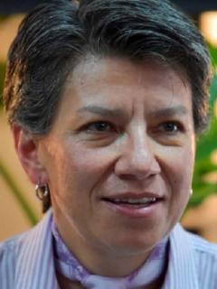 Imagen de Claudia López, quien fue criticada por Diego Molano y el Gobierno tras la confesión del Eln
