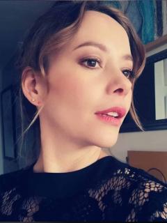 Foto de Angélica Blandón, a propósito de que anunció que está embarazada