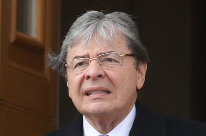 Ministro de Defensa, Carlos Holmes Trujillo, del que piden la renuncia
