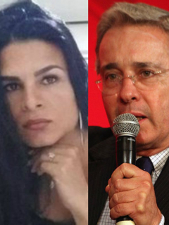 Juan Manuel Santos, Juliana Giraldo y Álvaro Uribe